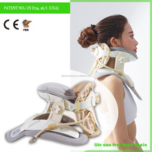 Neck Support Brace/Medical Soft Inflatable Cervical Neck Collar/Air Cervical Traction Device