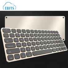 Mini Bluetooth 3.0 Wireless Aluminum Keyboard for Macbook iPad Android Tablet Win7