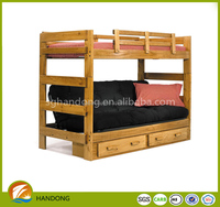good cheap pupolar pine wood specification of bunk bed