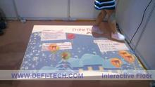 DEFI interactive floor/wall system with $200/set including 130 different effects,projection show