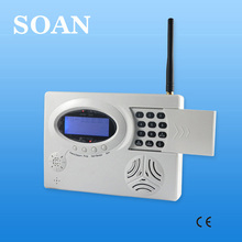 Hot sell Multi language Voice GSM security alarm system With LCD Screen