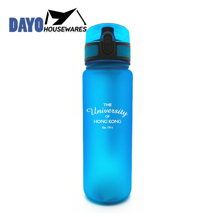 Exported Good Quality Outdoor Sport Plastic Water Bottle with Screw Cap