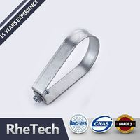 Most Popular Low Price Custom High Temp Pipe Clamp