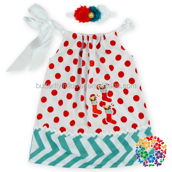Costume Girl Birthday Party Dresses Christmas Red Green Tree Hand Smocked Embroidered Dresses Christmas Dress