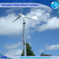 New design wind turbine type 5kw no fuel electric generator price