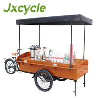 electric power coffee tricycle