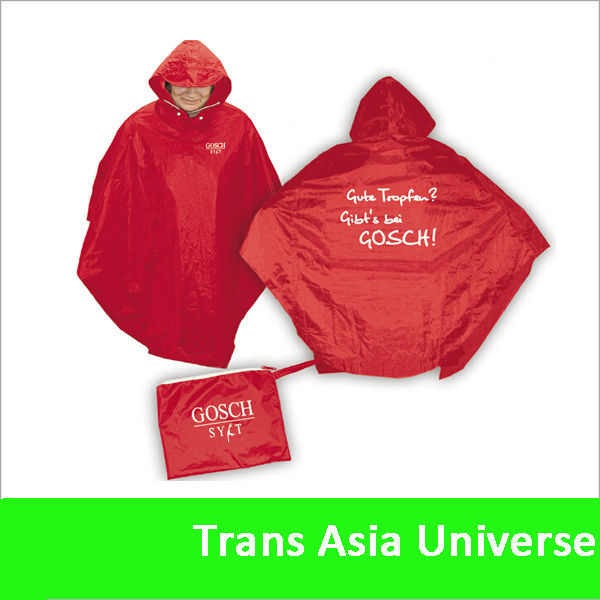 Hot selling Cheap high quality red rain suit