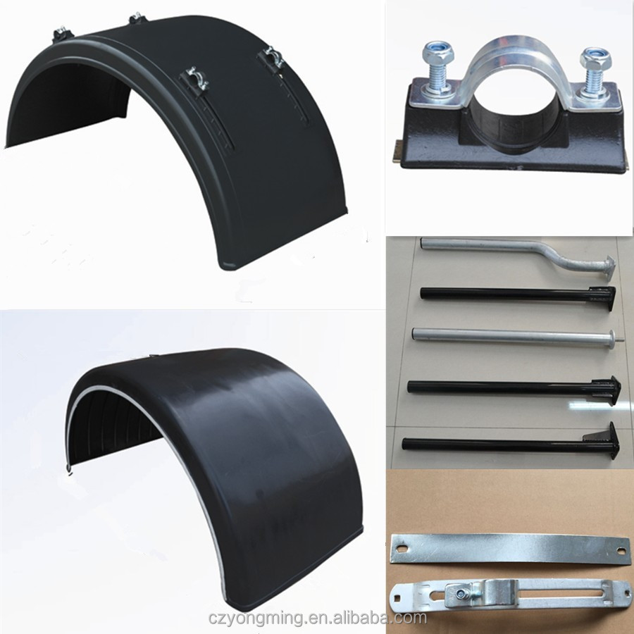 Mount Tube and Bracket for Plastic Mudguards Truck