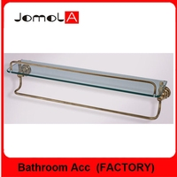 BATHROOM SINGLE GLASS SHELF