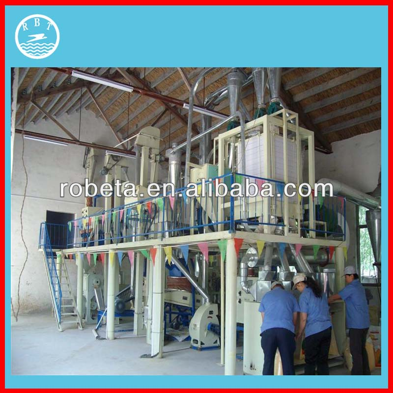 Whole Set Machinery sale used flour mills for sale