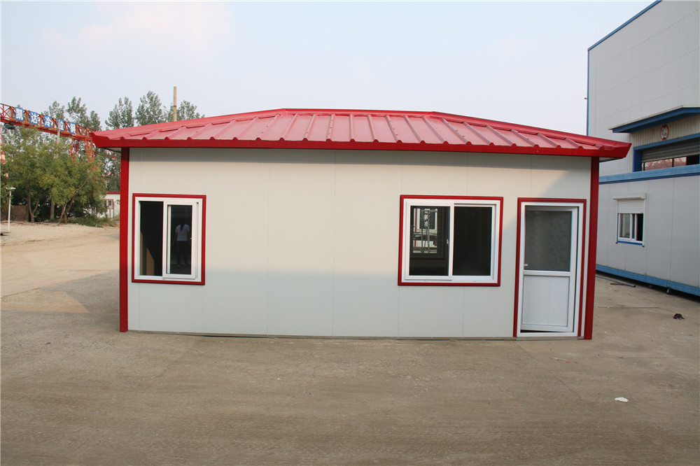 quality led light steel structure prefab houses manufactures