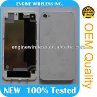 hot sale,for original for iphone 4 back glass cover assembly,high quality