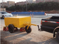 Towable Road Sweeper with Water Tank