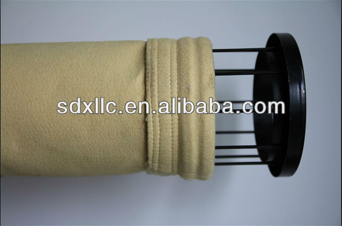 P84 filter bag filter hose filter sock filter material for cement plant