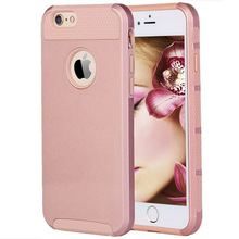 Solid color case for iphone 6s plus TPU PC Hydrid Case Cover For iphone 6s plus