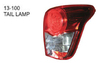 13-100 FOR TOYOTA COROLLA AXIO/FIELDER 06'-08' Auto Car tail lamp tail light