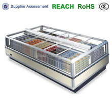 supermarket freezer glass door