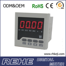 3-Phase kw meter analog active power meter energy meter for power distribuiton cabinet