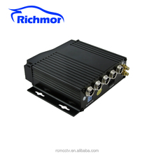 Industrial Grade 4CH HDD Mobile DVR With 3G GPS WIFI G-senosr Support 128 GB SD Card