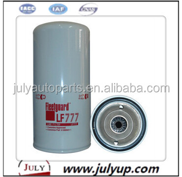 Hot Sale Diesel Engine Part Oil Filter lf777 for Fleetguard
