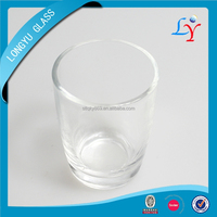 1481 clear shot glass cup 80ml drinking glass tumbler with round bottom