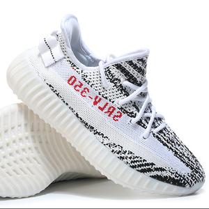 64e98a7c2711 Mens zapatillas yezzy 350 V2 Beluga Blue Semi Frozen Yellow Cream White  Bred Zebra Sport Shoes