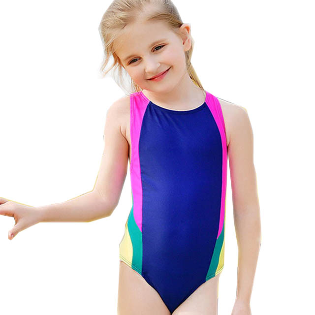 cute kids swimsuit models new style child modeling swimwear Popular child swimsuit models