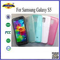 New Products Gel Cover For Samsung Galaxy S5 Jelly Soft TPU Case