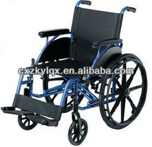 Deluxe light weight folding wheelchair LY883LB