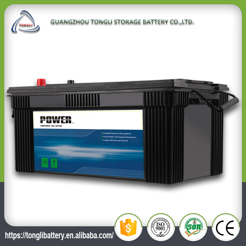N200ah good quality deep cycle high capacity reconditioned car batteries