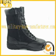classical design black tactical waterproof used military boots