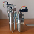 Steel made PHB series hydraulic high pressure inline filter