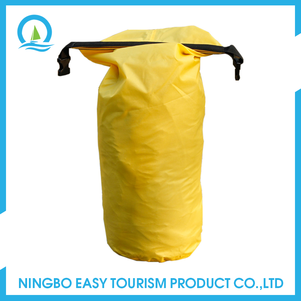 Outdoor Nylon Tarpaulin Waterproof Backpack Dry Bag