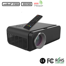 Cheap protable native full hd 1080P LED light home theater projector