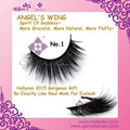 Hollyren Angel's Wing Super Soft Natural Fluffy Silk 3D False Eyelash