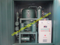 Transformer Oil Filter Machine, Vacuum Oil Dehydration and Degasification Unit , Purify electric insulating fluids