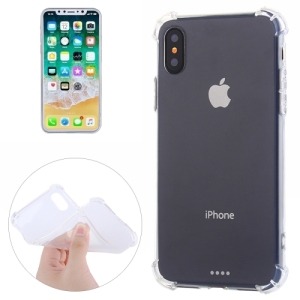free sample Dropshipping New Products Transparent Shockproof TPU Soft Protective phone Case For iPhone X 8 plus