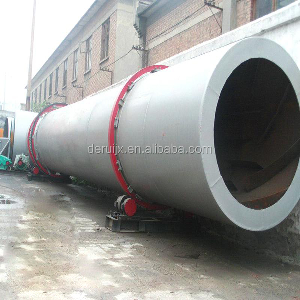 Fly Ash Drying Production Line and Fly Ash Rotary Dryer
