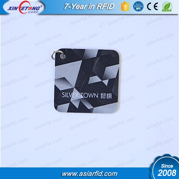 Square non-standard punching PVC card