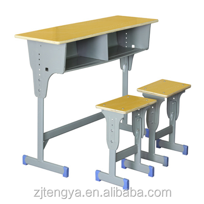 cheap double middle college school teaching desk
