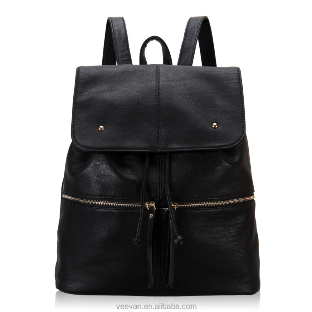 VEEVAN New Product korean leather backpacks