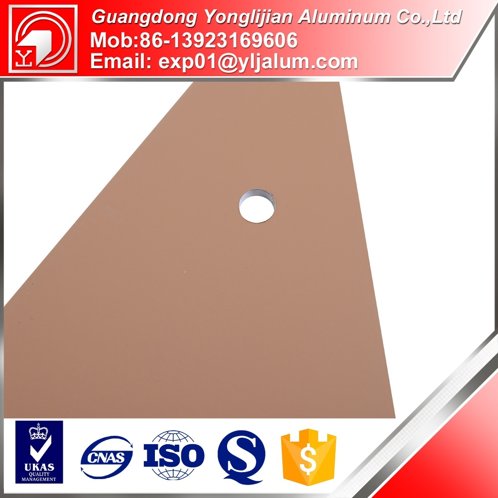 Fluorocarbon spraying industrial profile 6063 aluminum profile factory price hot sale