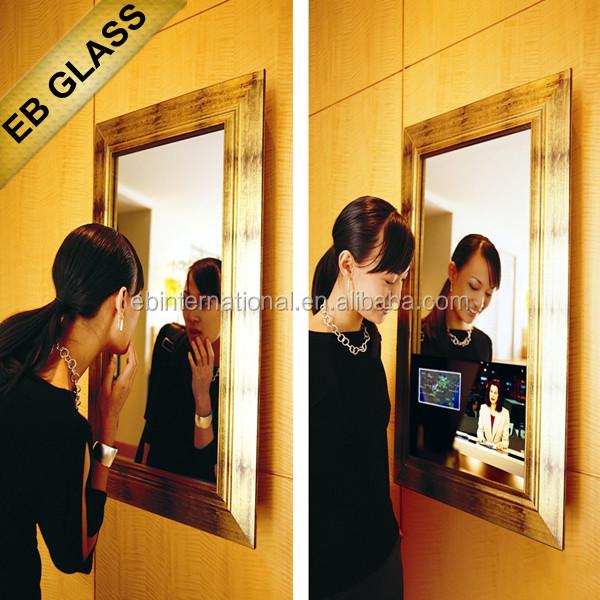 Semi transparente espejo anuncios espejo m gico eb for Espejo transparente