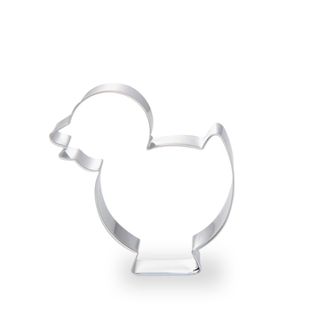 High quality mini chik shaped stainless steel metal animal cookie cutter