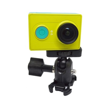 Hot sale accessories gopros mount Rotate 360 degrees mini yuntai With lock device for GoPros,SJCAM,Xiao YI