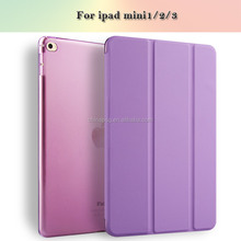 For Apple iPad mini 1 2 3 4 case cover,Autosleep and autowake function,stand function