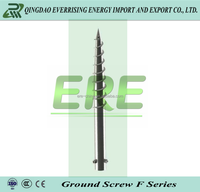 Ground screw spike for solar mounting systemmade in China