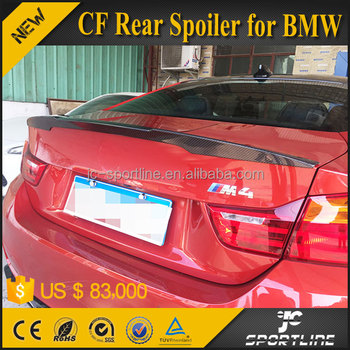 Auto Carbon Fiber Rear Spoiler for BMW F82 M4 2 Door 2015