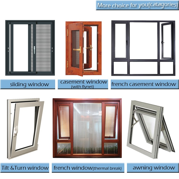 Modern house tempered glass decorative bathroom windows for Window design 2016