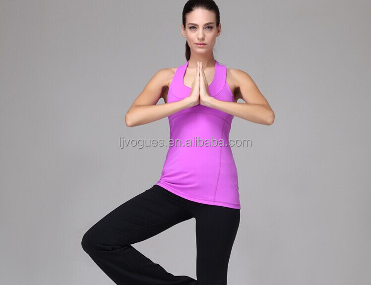 Hot selling Yoga Loose Fit Top For Women Tight fit tops